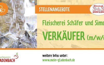 VERKÄUFER (m/w/d) | Fleischerei Schäfer und Simon