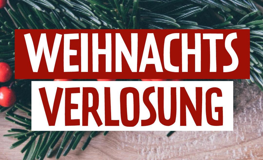 Weihnachtsverlosung
